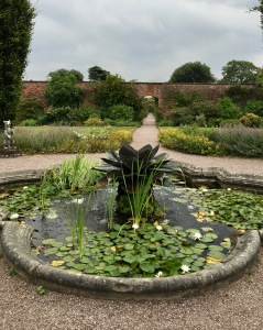 Fountain at Arley Hall